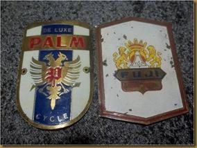 Emblem Palm dan Fuji