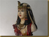 Patung  Cleopatra - wajah