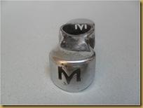 Tutup fork magneet - lubang M