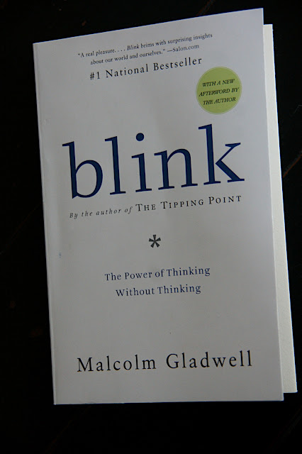 essay book blink 2016-6-22  malcolm gladwell's 2005 non-fiction book blink is about how people use their adaptive unconscious – the part of the brain that operates rapidly based upon little information – to make important decisions gladwell considers how and why some people are able to make such decisions with success.