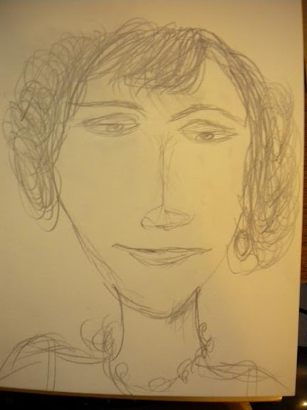 Sketch of Coco Chanel