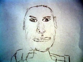 Sketch of Michael Jordon