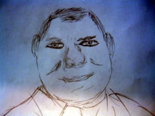 Sketch of William Shatner