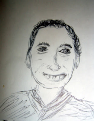 Sketch of Leslie Orgel