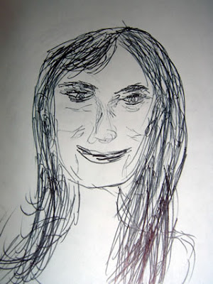 Sketch of Bjork