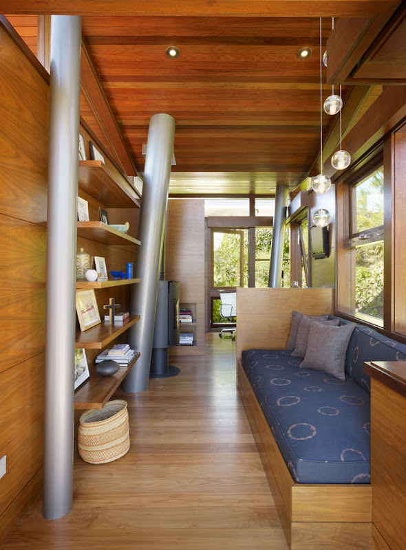 wooden treehouse design minimalist interior decorating