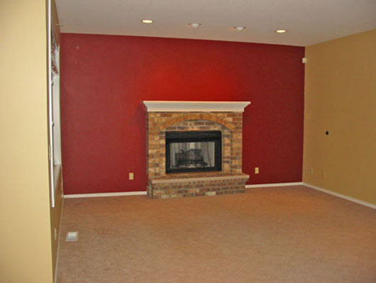 Decorating Ideas Family Room Design Interior With Fireplace   Home .