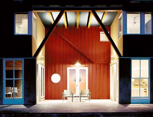 Contemporary Farm House Design Exterior Terrace