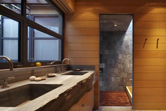 glass house design interior luxury bathroom