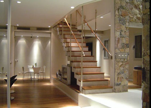 Modern House Design Clad in Stone and Wood - Home Gallery Design