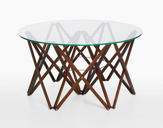 Wood and Glass Table Design Furniture