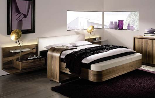 modern bedroom furniture design interior