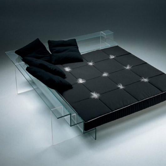 Modern And Unique Glass Bed Design Home Furniture Ideas
