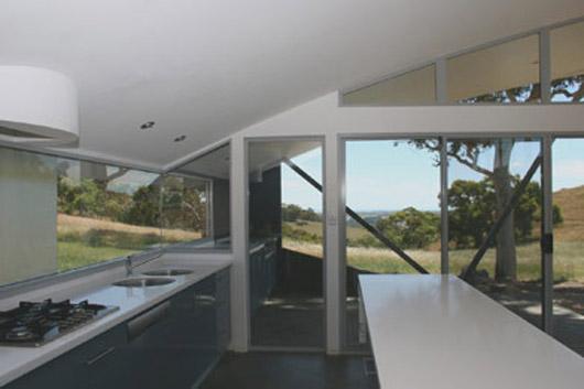 rural glass house design kithen ideas