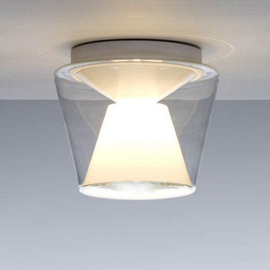 Modern Glass Cone Ceiling Lamp Design Home Interior Decorating