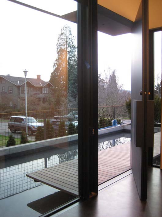 sustainable house design glass windows pictures