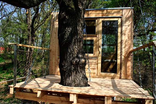 box treehouse decorating exterior design ideas