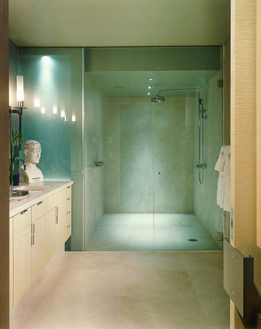 interior modern apartment decorating luxury bathroom