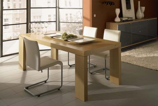 modern swing chair design dining room