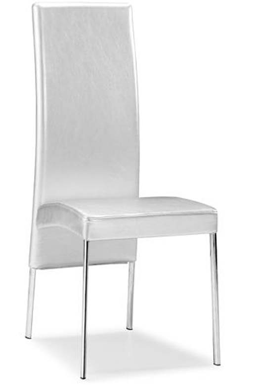 Modern Sleek Dining Chair Design Luxurious Dining Room Decorating