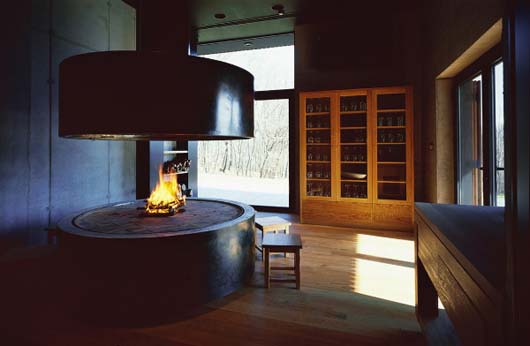open concept interior decorating fireplace pictures