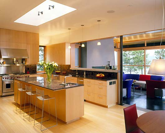 luxurious wooden kitchen design interior decorating