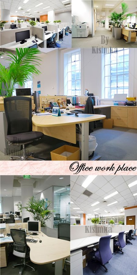 Stock Photo: Office work place