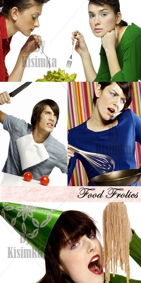 Stock Photo: Food Frolics