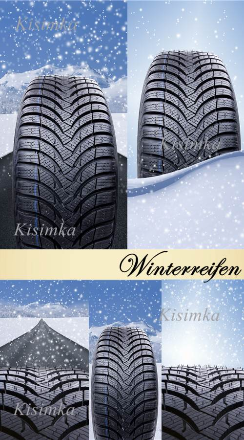 Stock Photo: Winterreifen
