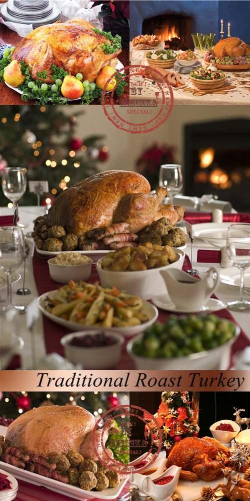 Stock Photo: Traditional Roast Turkey