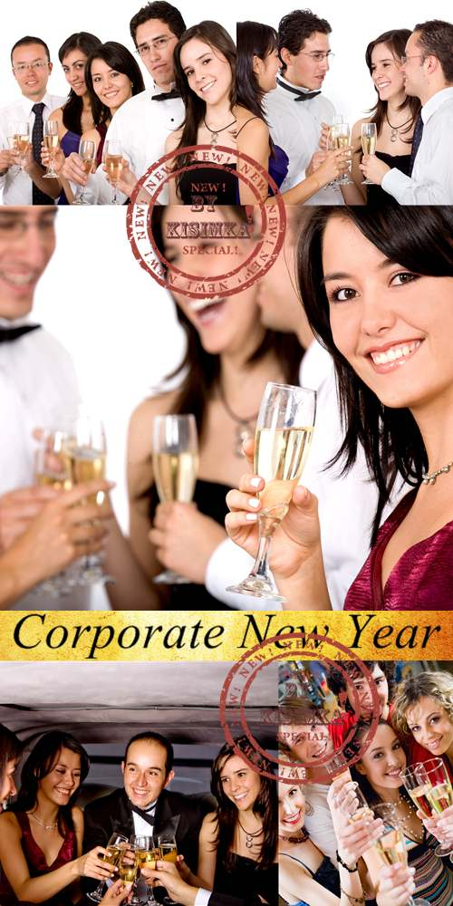 Stock Photo: Corporate New Year