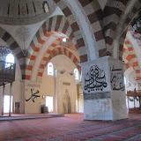interior, looking toward mihrab and qibla wall
