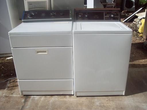 KENMORE ELITE HE4 FRONT LOAD GAS DRYER WITH PEDESTAL WT