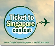 Win tickets to singapore