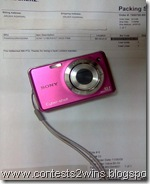 lockerz got camera india sony