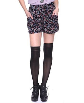 shortsfloraldark