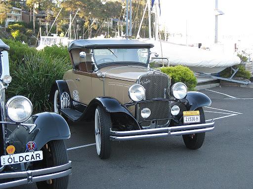 1929 DeSoto Roadster.