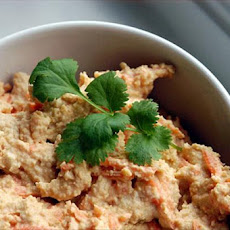 Humous and Carrot Dip