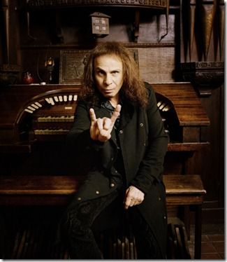 Ronnie James Dio / Heaven and Hell 2009 Chapman Baehler / Courtesy Rhino Entertainment