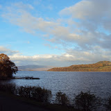 Loch Lomond, north of Glasgow