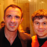 Με τον Νίκο Αλιάγα στο Παρίσι
