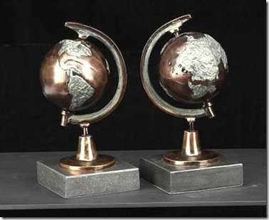 globe-bookends