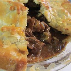 Steak and Irish Stout Pie