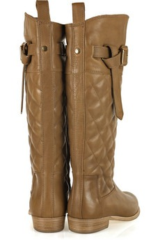 BURBERRY - Quilted leather riding boots - 725