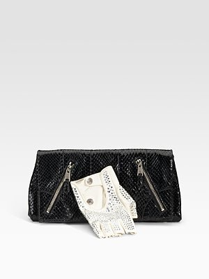 Alexander Mcqueen - Thriller Faithful Glove Clutch - 1417