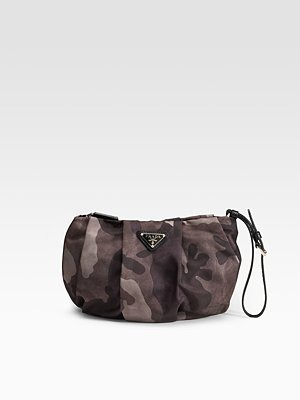 prada - Tessuto Camouflage Wristlet - 251