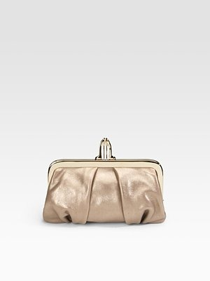 Christian Louboutin - Metallic Leather Clutch - 513