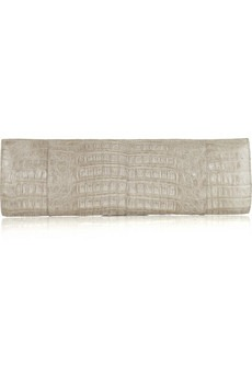 Nancy Gonzalez - Patent-crocodile long clutch - 1200