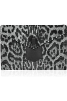 Yves Saint Laurent - Printed calf hair clutch - 795