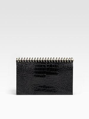ALEXANDER WANG - Amber Spiral Notebook Clutch - 461